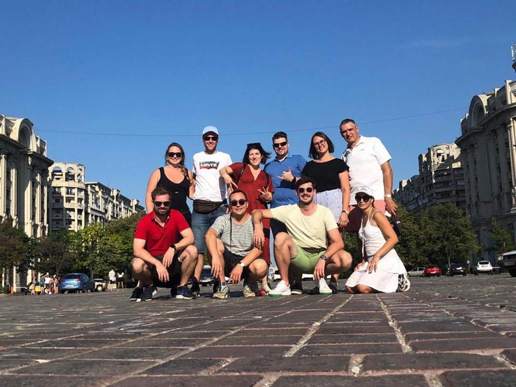 Wirtschaftjunioren der WJ Karlsruhe beim short trip in Bukarest